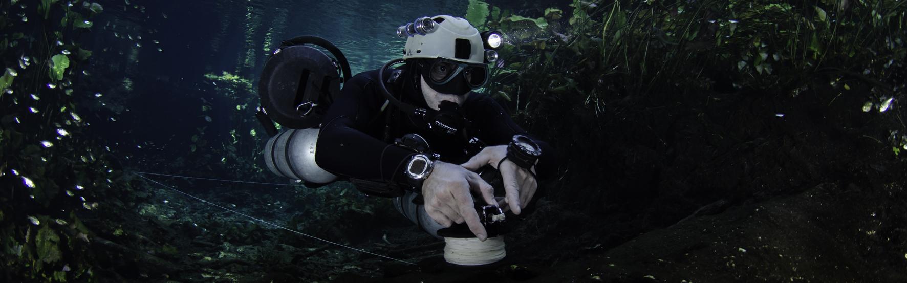 tec diving workshops, line laying workshops, try double tanks, under the jungle, tajma ha dive shop