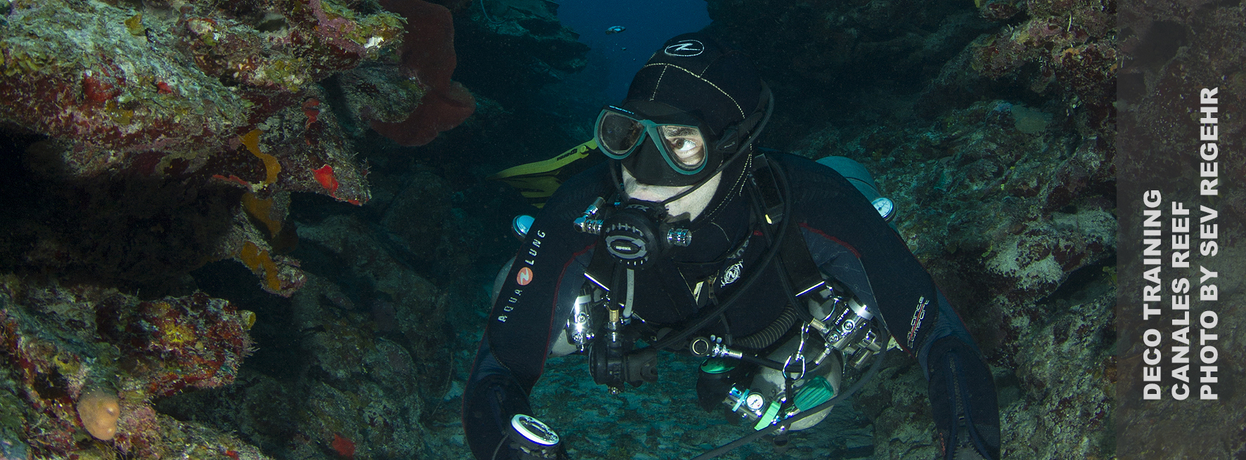 Umder The Jungle, Technical Side Mount Course, Technical Side Mount Dive, Side Mount Mexico, Vincent Rouquette-Cathala