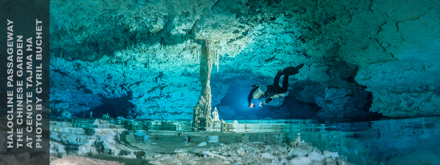 Cave Halocline, Halocline Photos, Under the Jungle, Tajma Ha Cenote, Taj Mahal Cenote, Cyril Buchet Photo
