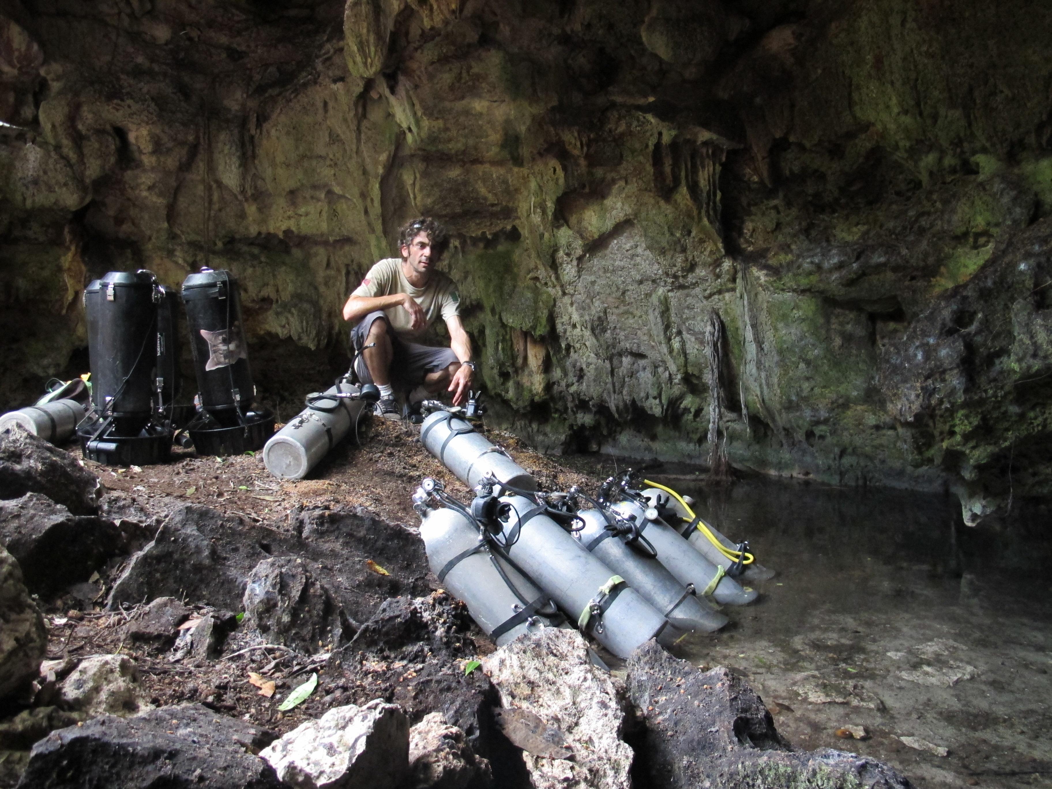 Vincent Cave Diving Instructor, Vincent Phocea, Cave Diving Instructor Mexico, TDI Instructor Mexico, Technical Diving Instructor Mexico