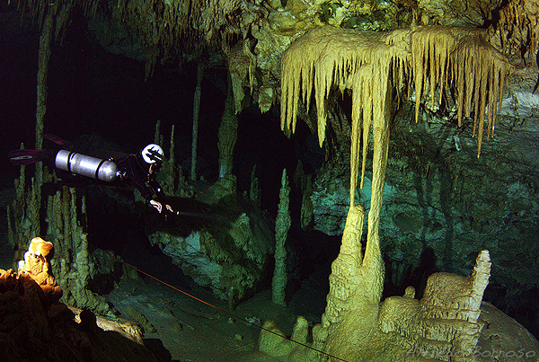 Cavern Diving at Cenote Dreamgate