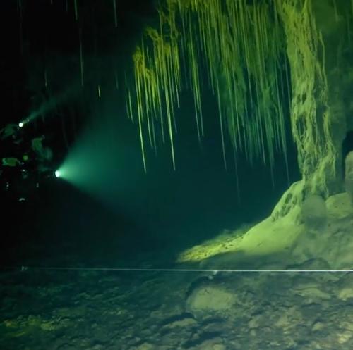 Deeper into Pandora, Pandora Cave exploration, Under the Jungle, Mexico Cave Exploration