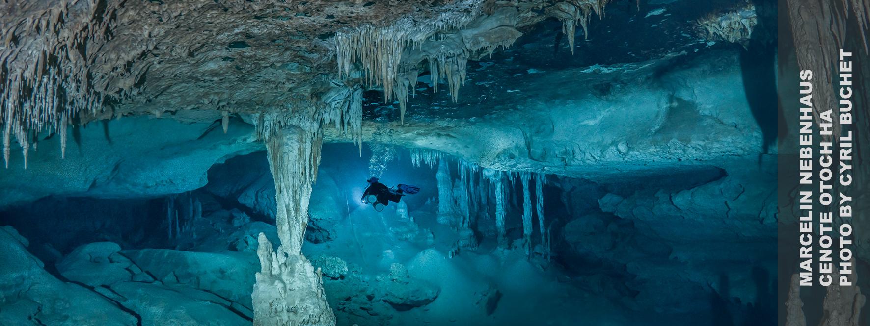 Marcelin Nebenhaus, Marcelin Cave Diving, Under the Jungle, Marcelin Under the Jungle