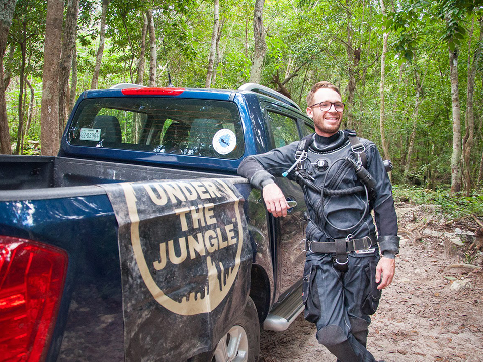 Marcelin Nebenhaus, Cave Instructor Mexico, Under the Jungle, Marcelin Cave Diving