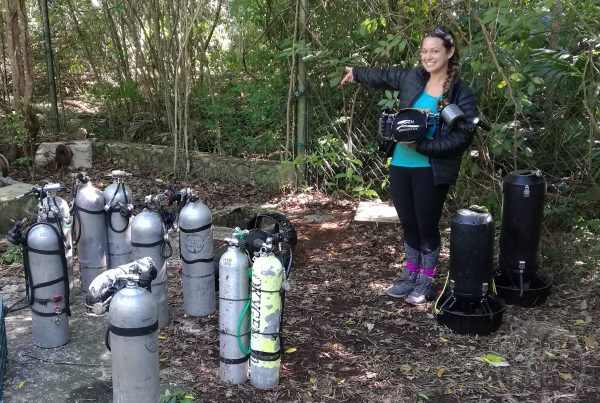Natalie Gibb, Cave Explorer Natalie, Under the Jungle, Cenote Melmak