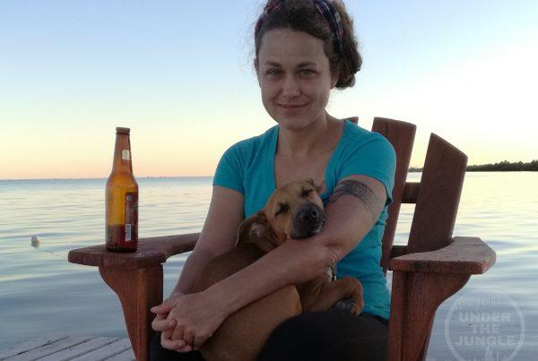 Natalie Gibb, Pandora Expedition, Exley the Dog
